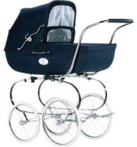 Подержанная коляска-люлька Inglesina Classica