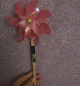 Палочка для украшения сада