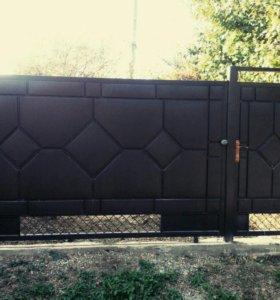 Дутые ворота
