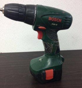 Шуруповёрт Bosch 1.2Ah