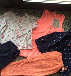 Одежда для девочки Next Zara Carters