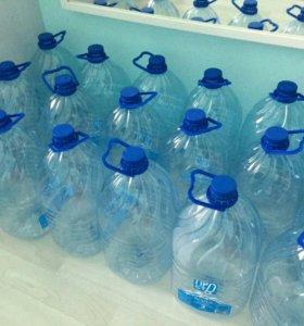 Бутыли пластиковые