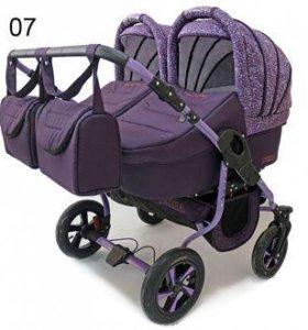 коляска для двойни Polmobil Terra 2 в 1