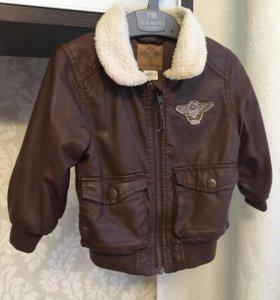 Куртка на мальчика 12-18 мес