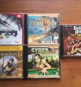 Игровые диски и фильмы