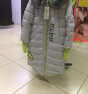 Новое пальто зима, размеры в наличии 48, 50