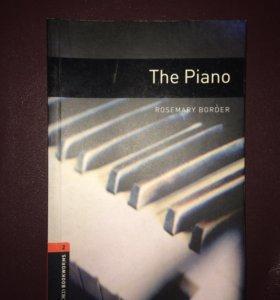 """Книга """" The piano"""" на английском языке"""