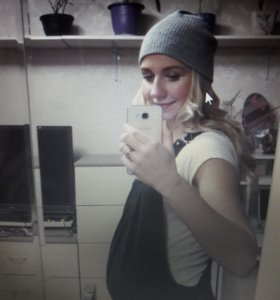 Комбинезон для беременой теплый брюки черные женск