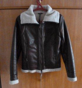 Кожаная куртка осень-весна