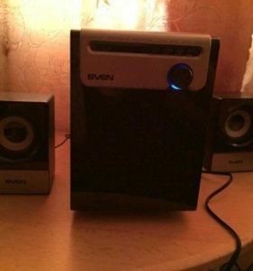 Мультимедийная акустическая система 2.1