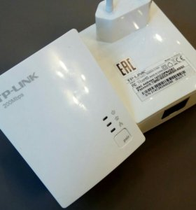 Сетевой адаптер PowerLine TP-LINK TL-PA2010KIT Eth