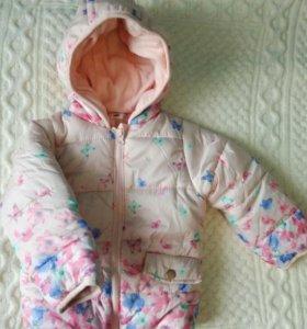 Курточка на флисе Pepco новая