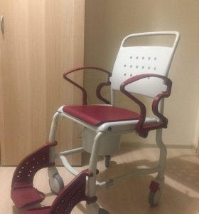 Новый туалетный стул-кресло на колёсах