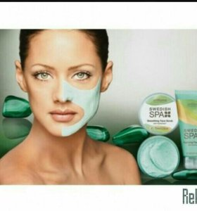 Глубокоочищающая маска с белой глиной