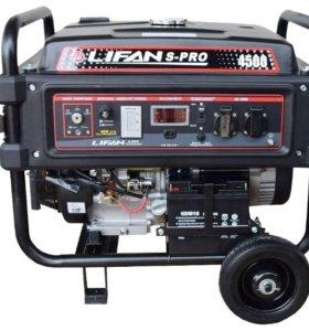 Бензиновый генератор Lifan S-Pro SP4500
