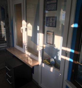 Окно и дверь пластиковые