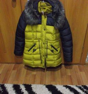 куртки 2 штуки зимние