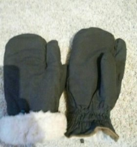 Трехпалые рукавицы