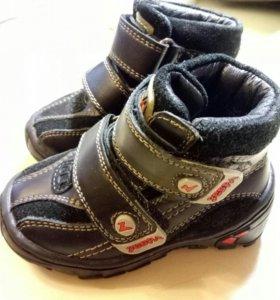 Ботинки детские осенние Zebra