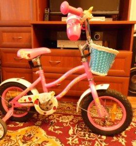 """Велосипед детский для девочки Stern Fantasy 12"""""""