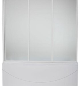 Шторка для ванн BAS стекло/ металл