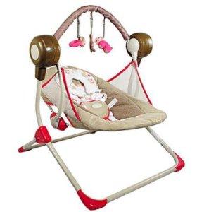 Электрокачели Baby Care Balancelle Pink