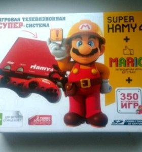 Hamy 4 Mario (350 в 1) Red (Sega + Dendy)