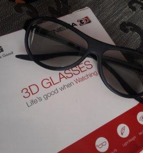 Lg 3d очки (4шт)