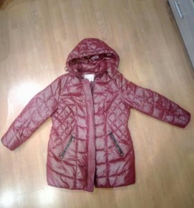 Пальто синтепон зимнее новое