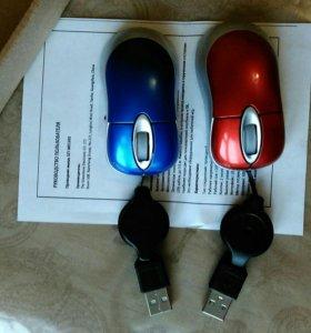 Мышь проводная!новые