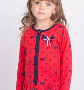 Кофточка на девочку, размеры 98-116