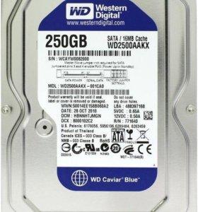 Жесткий диск hdd 250GB