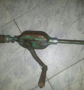 Ручная дрель СССР