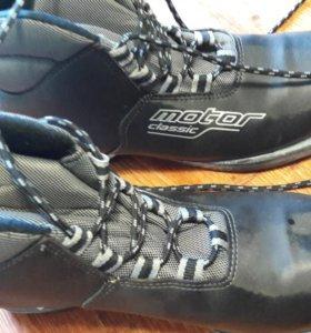 Лыжные батинки 35 и 39 размера
