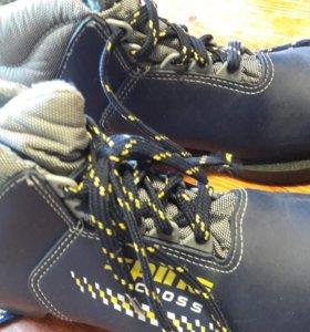 Лыжные батинки 35го. размера
