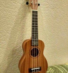 Гавайская гитара/укулеле Zebra новая со склада