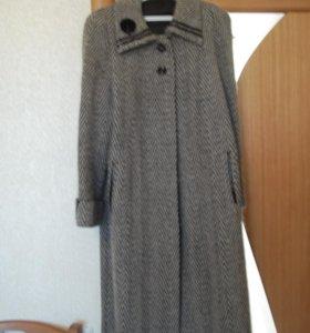 Пальто женское демисезонное драповое