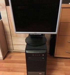 Четырехъядерный компьютер AMD