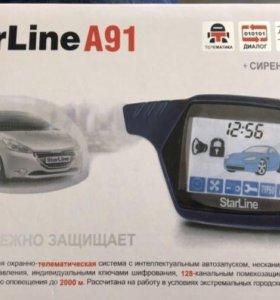 Новая StarLine a91