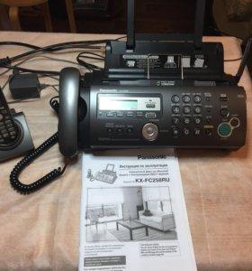 Компактных факс с беспроводной трубкой