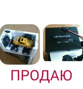Радиоуправляемая машинка