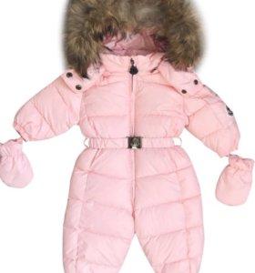Новый зимний детский комбинезон