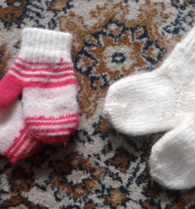 Варежки + носочки