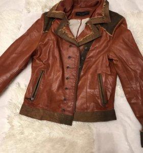 Кожаная (натуральная)куртка