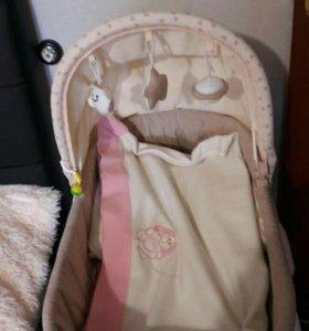 Детская люлька-кровать