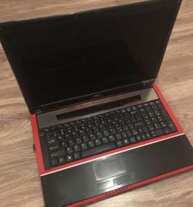 Ноутбук MSI 1727 GX 740 на запчасти
