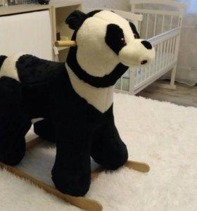 Панда качалка