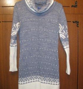 Теплое платье + гетры