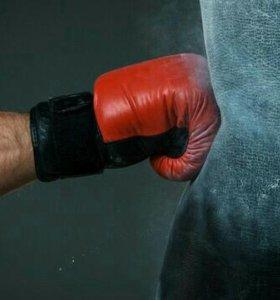 Перчатки для бокса.Семья(папа+сын,папа+мама)