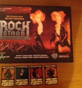 "Настольная игра ""Rock stage a path to fame"""